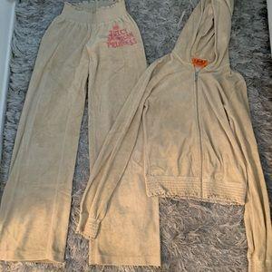 Juicy Couture Velour Track Suit